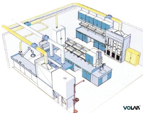 实验室家具设备,实验室通风净化,化验室设计,实验台 通风柜 咨